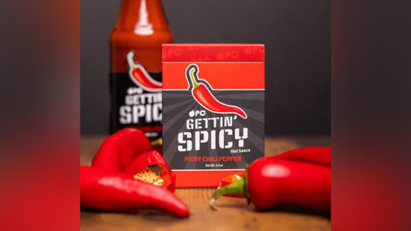 Gettin' Spicy -Chili Pepper Playing Cards by OPC