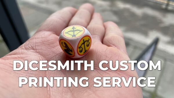 Spotted Dice custom printing service