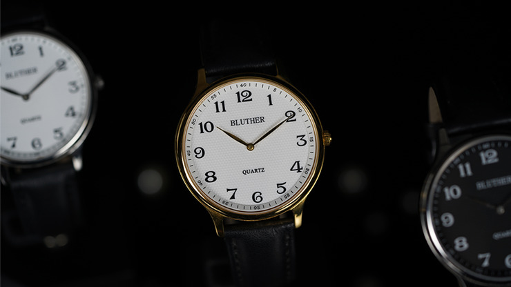 Infinity Watch V3 - Gold Case White Dial / STD Version by Bluether Magic