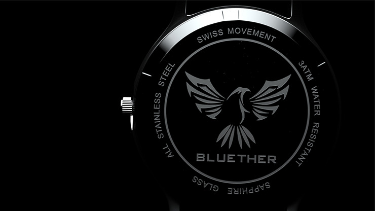 Infinity Watch V3 - Silver Case White Dial / PEN Version by Bluether Magic