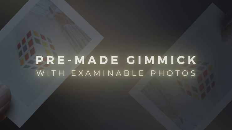 Skymember Presents: Project Polaroid Add-On Kit (CUBE Magic)