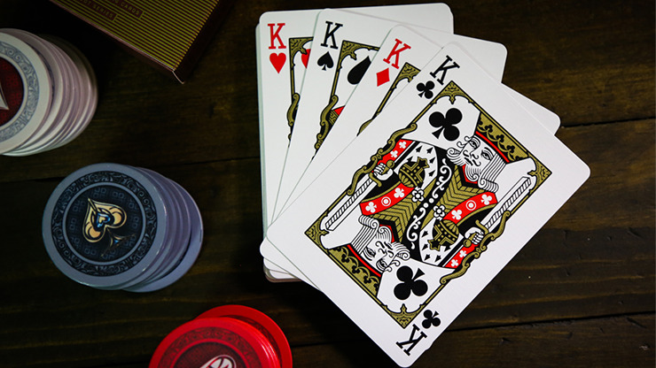 Slot Playing Cards (Lucky 7 Edition) by Midnight Cards