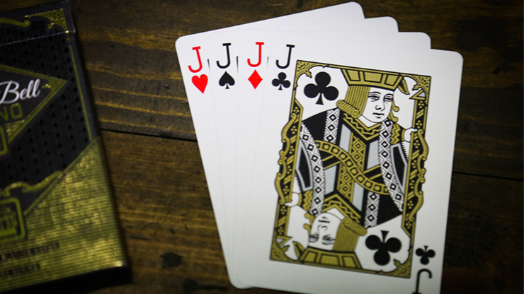 Slot Playing Cards (Liberty Bell Edition) by Midnight Cards