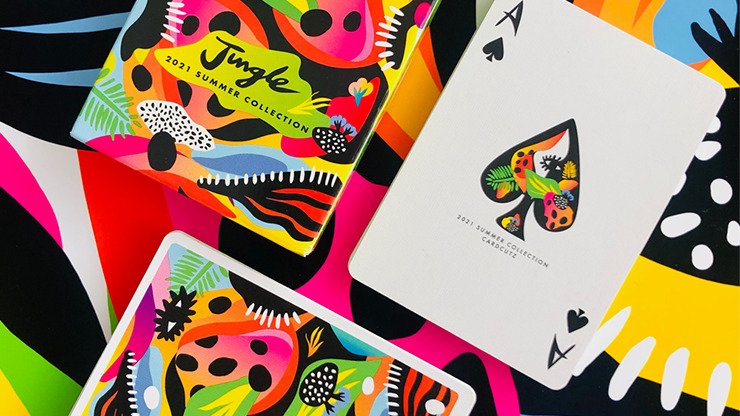 2021 Summer Collection: Jungle Playing Cards by CardCutz
