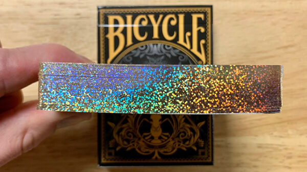 Gilded Bicycle Ant (Black) Playing Cards