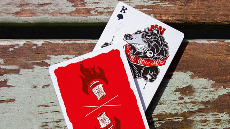 Trash & Burn Playing Cards by Howlin' Jacks