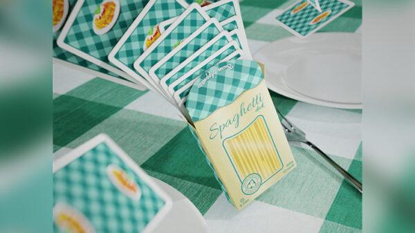 Spaghetti Playing Cards