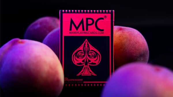 Fluorescent (Peach Edition) Playing Cards