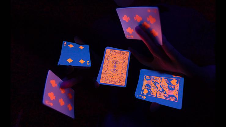 Fluorescent (Pumpkin Edition) Playing Cards