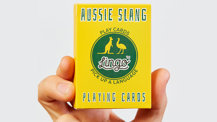 Lingo (Aussie Slang) Playing Cards