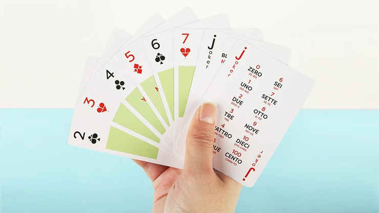 Lingo (Italian) Playing Cards