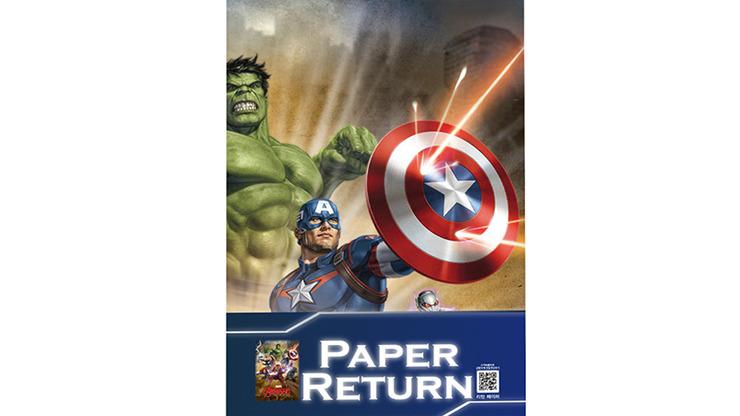 Paper Restore (AVENGERS) by JL Magic