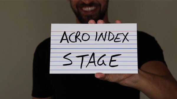 """Acro Index Dry Erase Large 5""""x8"""" by Blake Vogt"""