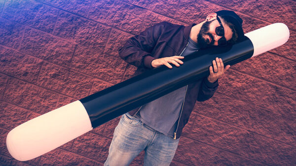 INFLATABLE WAND (6FT.) by Murphy's Magic Supplies