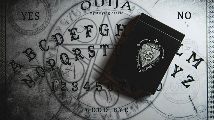 Resurrected V2 (Black) Playing Cards By Abraxas