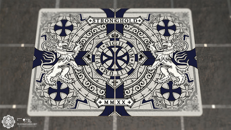 Bicycle Stronghold Sapphire Playing Cards