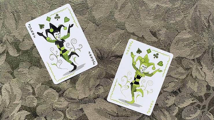 Gilded Bicycle Caterpillar (Dark) Playing Cards