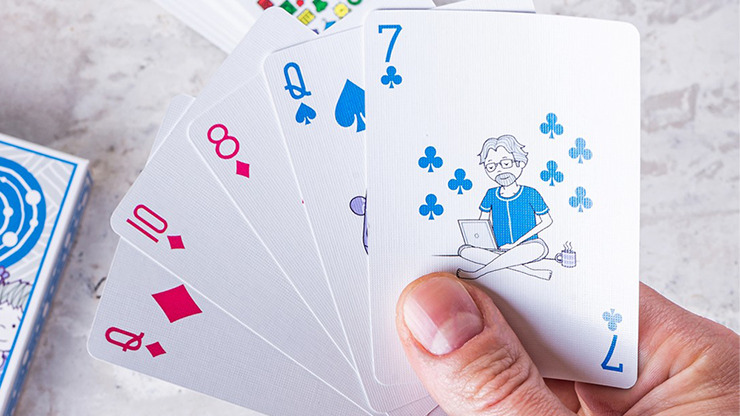 For Dad Playing Cards