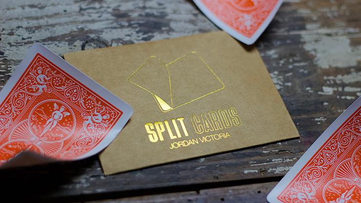COLORED Split Cards 10 ct. (Orange) by PCTC