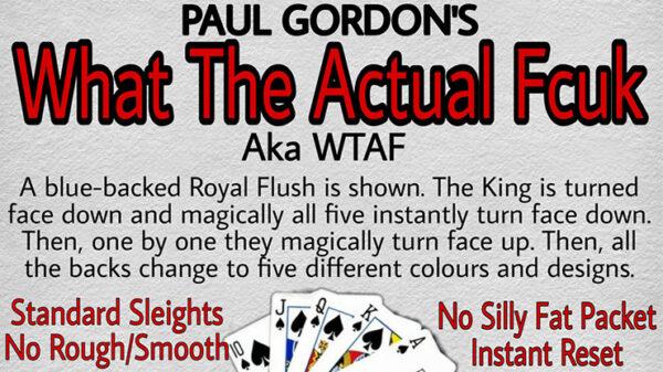 WTAF by Paul Gordon