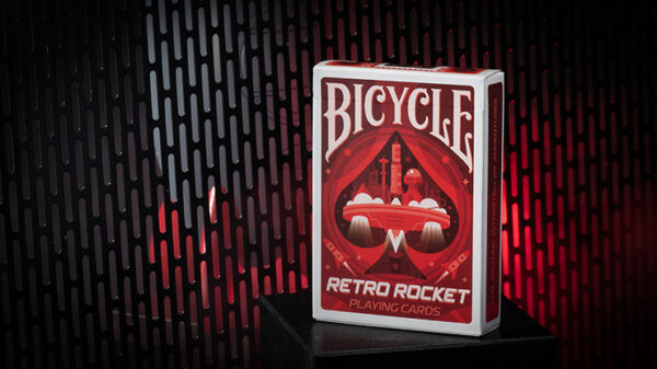 Retro Rocket Playing Cards