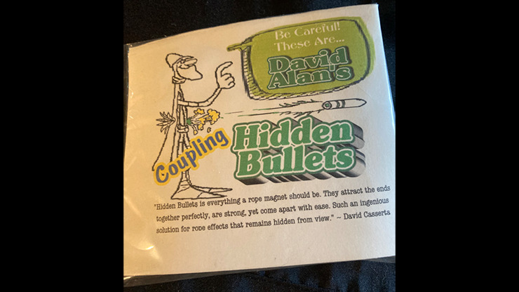 Hidden Bullets (Coupling) by David Alan Magic