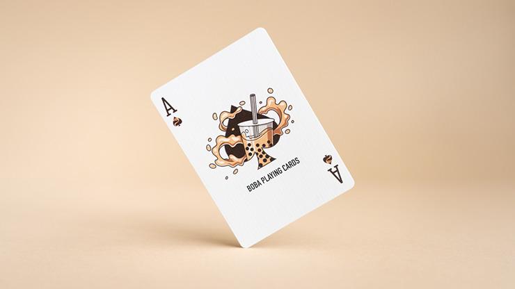 Boba (Half-Brick) Playing Cards by BaoBao Restaurant
