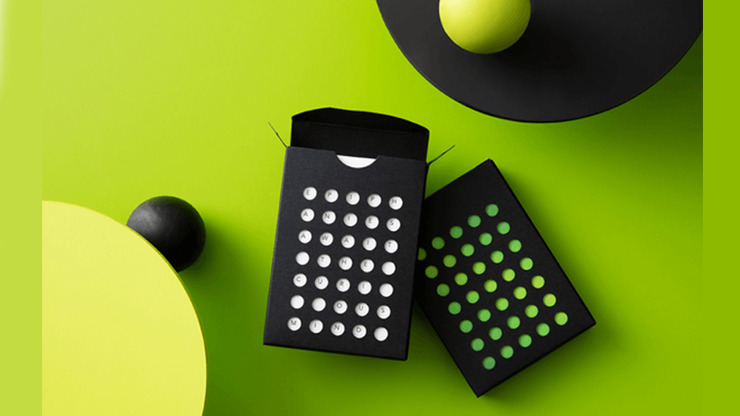 NOC Tropic Green Colorgrades Playing Cards by Art of Play