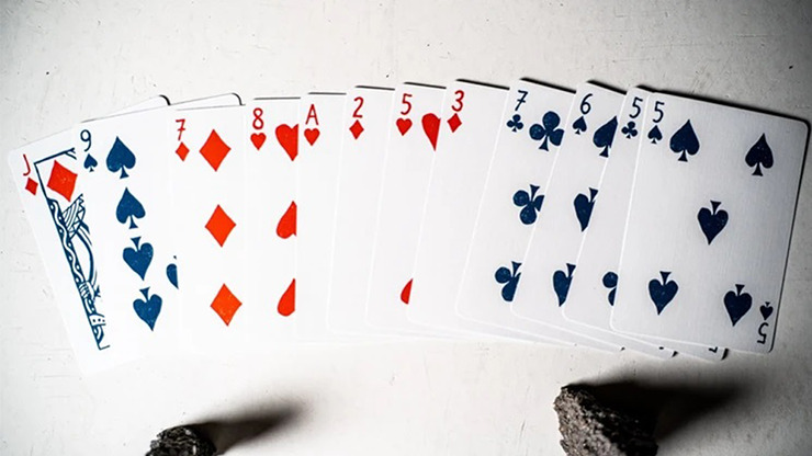 Happy Sad Playing Cards by Joker and the Thief