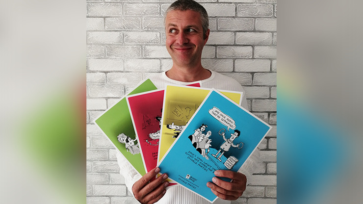 MAGIC DAVE Poster Set by Graham Hey - Book