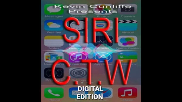 Siri C.T.W DIGITAL EDITION by Kevin Cunliffe Mixed Media DOWNLOAD - Download