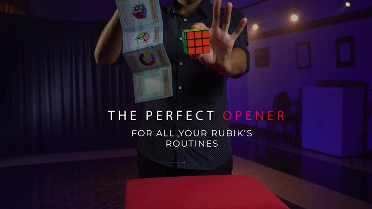 Rubik's Cube 3D Advertising by Henry Evans and Martin Braessas