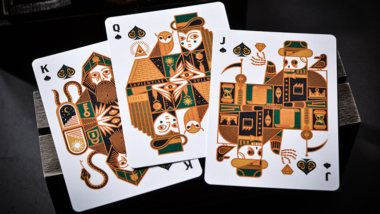 The Secret (Emerald Edition) Playing Cards by Riffle Shuffle