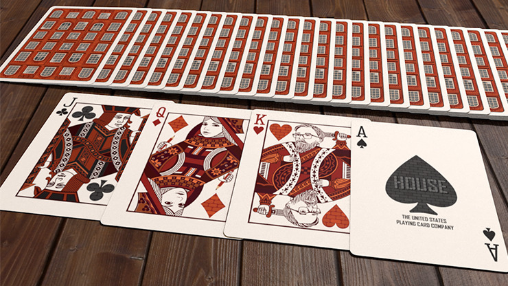 House Playing Cards