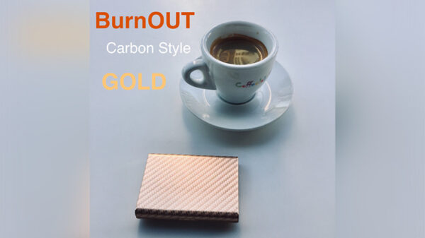 BURNOUT 2.0 CARBON GOLD by Victor Voitko