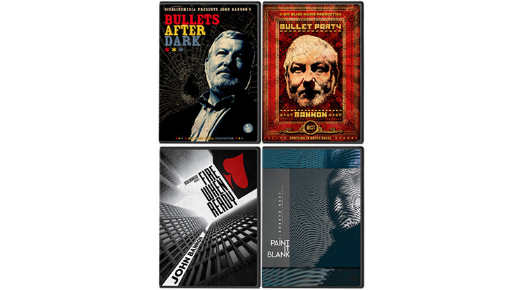 John Bannon's Bullet Trilogy (Includes Bullet After Dark, Bullet Party, Fire When Ready and Paint it Blank Project)