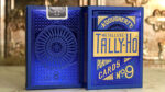 Tally Ho Blue (Circle) MetalLuxe Playing Cards by US Playing Cards