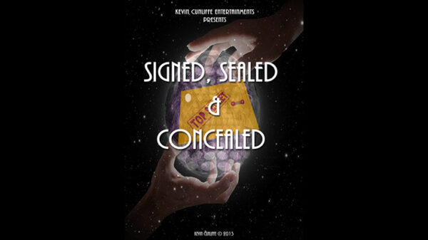 Signed, Sealed & Concealed by Kevin Cunliffe mixed media DOWNLOAD - Download