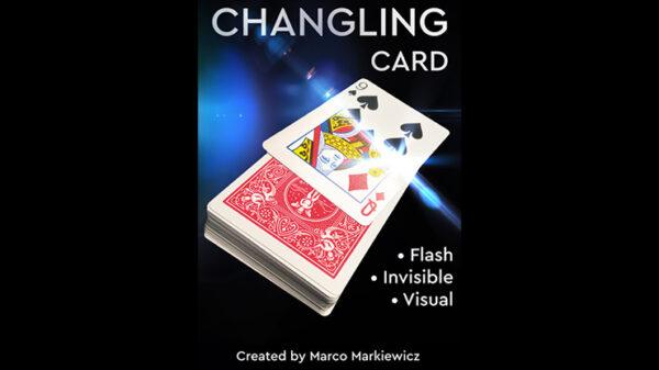 CHANGLING CARD BLUE by Marco Markiewicz
