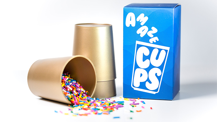 AmazeCups (Gimmicks and Online Instructions) by Danny Orleans - Trick