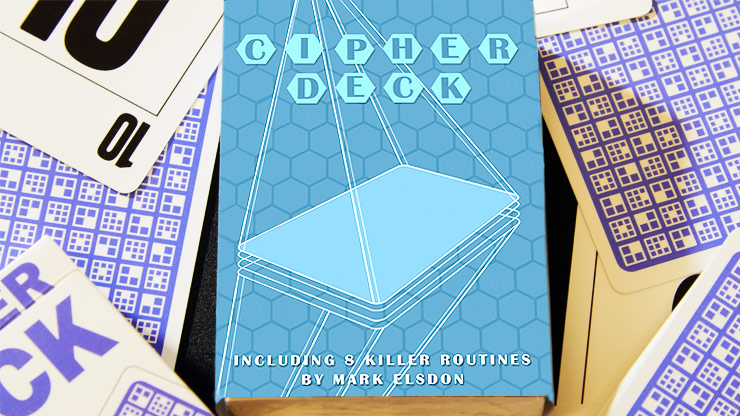 CIPHER DECK by James Anthony - Routines by Mark Elsdon and more