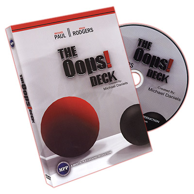 Oops Deck (Deck and DVD) by Michael Daniels - DVD