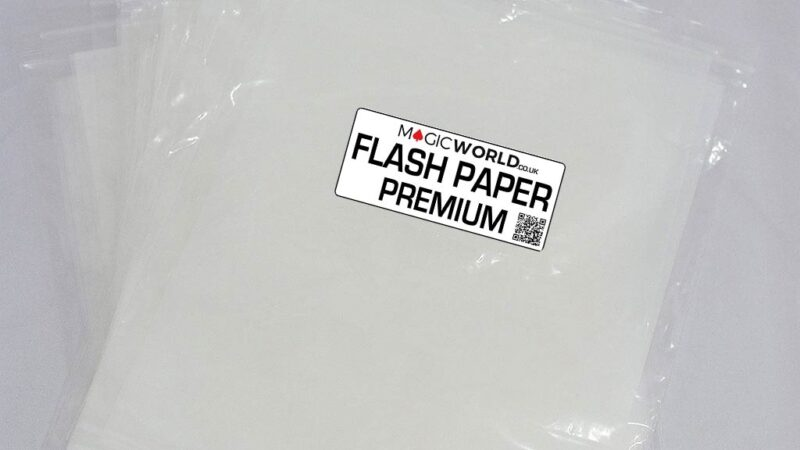 Flash Paper Premium 4 Sheets