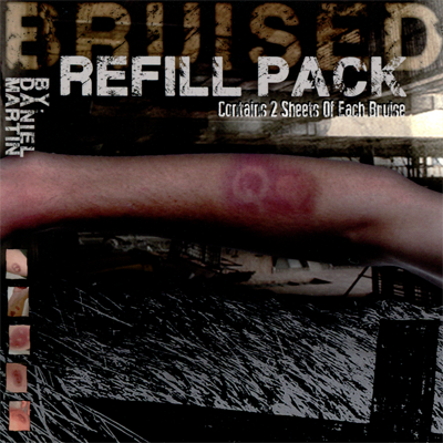 Refill for Bruised (8 complete sheets)by Daniel Martin - Trick