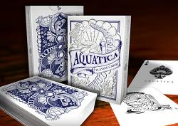 AQUATICA Exclusive Playing Cards by MagicWorld.co.uk