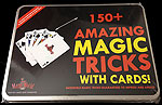 150+ Amazing Magic Tricks With Cards and DVD Instructions
