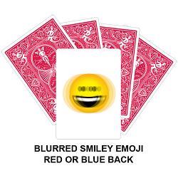 Blurred Smiley Emoji Card