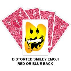 Distorted Smiley Card