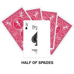 Half Of Spades Card