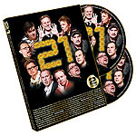 21 Magic By Sweden 2 DVD Set